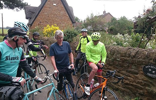 Showing our friend from Germany the Northamptonshire countryside