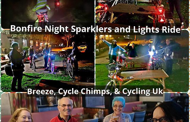 Bright lights & Sparklers ride