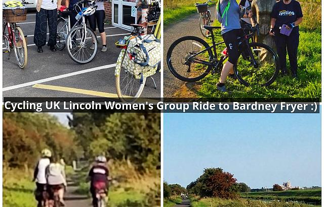Bardney Fryer summer ride