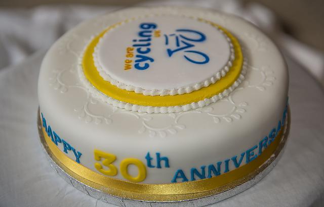 CTC Grampian 30th anniversary Cake