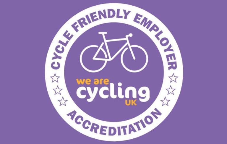 Cycling UK accreditation logo