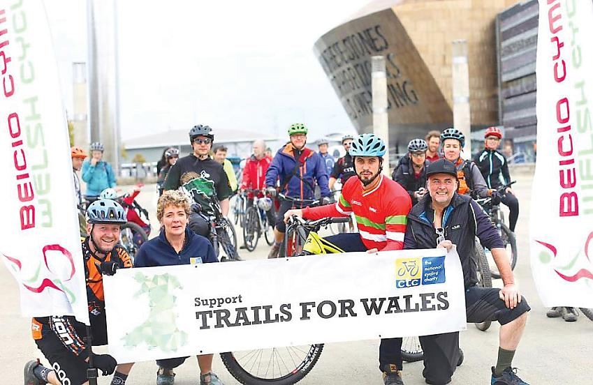 Trails for Wales. Photo Nigel Pugh