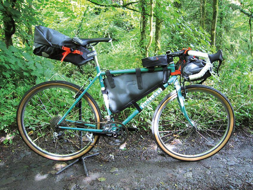 Bikepacking set up