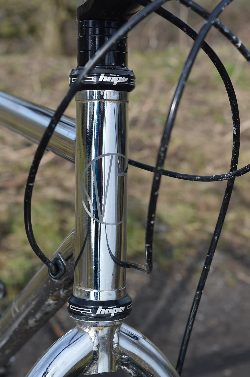 Bare stainless steel tubing looks good and is durable too