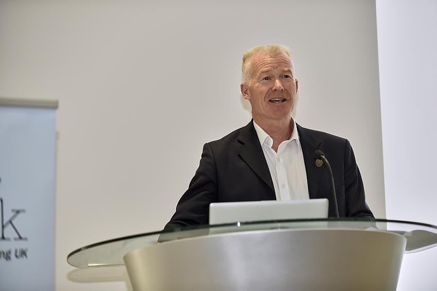 Cycling UK Chief Executive, Paul Tuohy