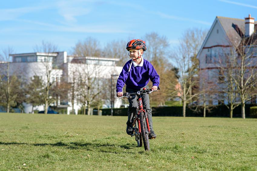 Many kids want to cycle to school - but they need to safe space to do so