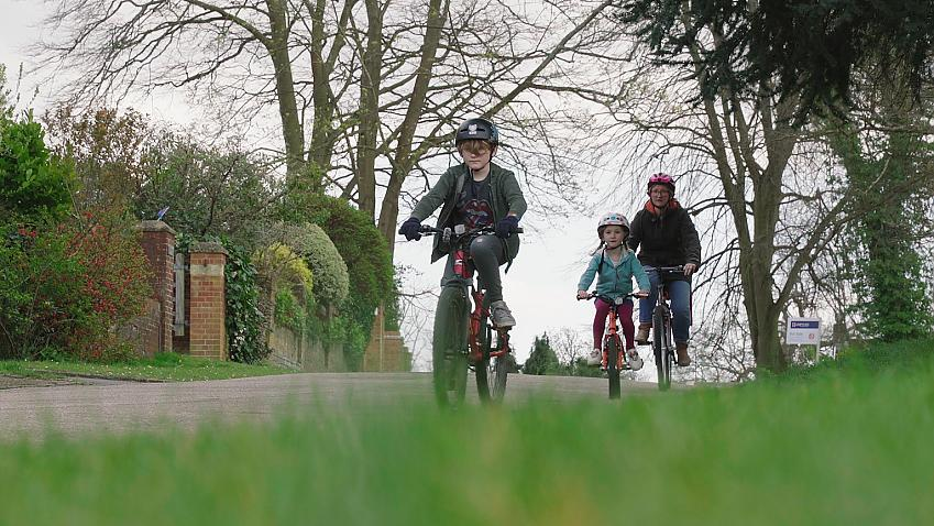 Family cycling has shot up during the lockdown, but this should be something we embrace for the future