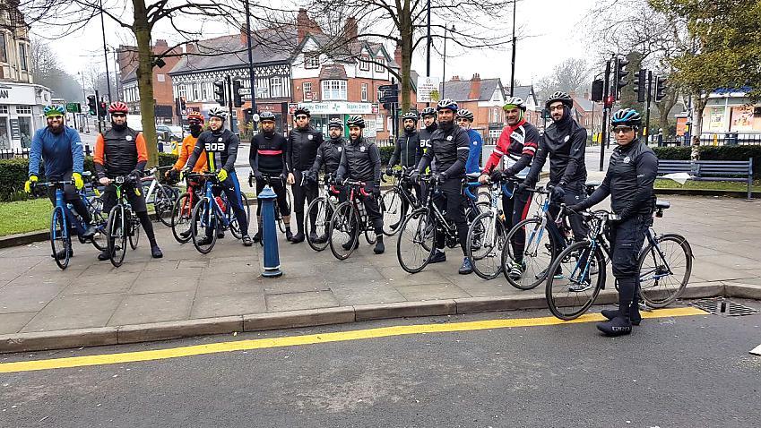 Brothers on Bikes in Birmingham