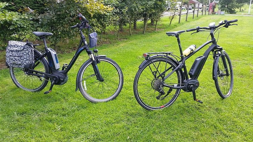 Neil and Cathie's ebikes