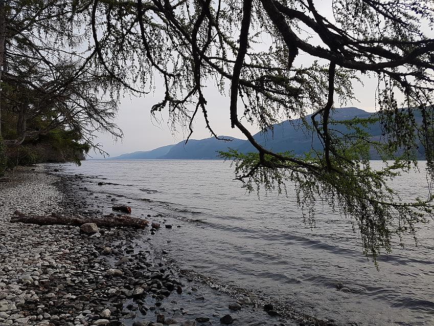 The shores of Loch Ness
