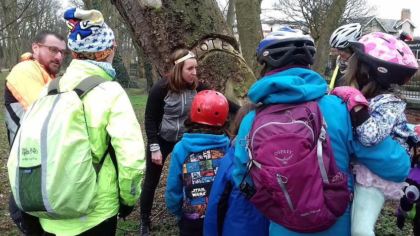 Learning about the suffragette tree