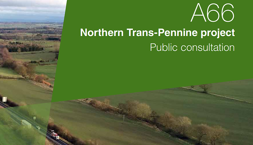 A66 Northern Trans-Pennine project public consultation