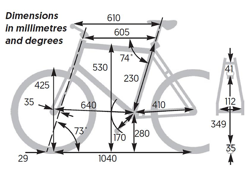 Brompton Electric measurements and tech spec