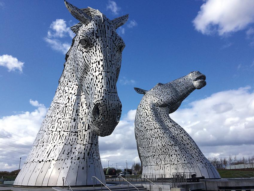 The Kelpies monument