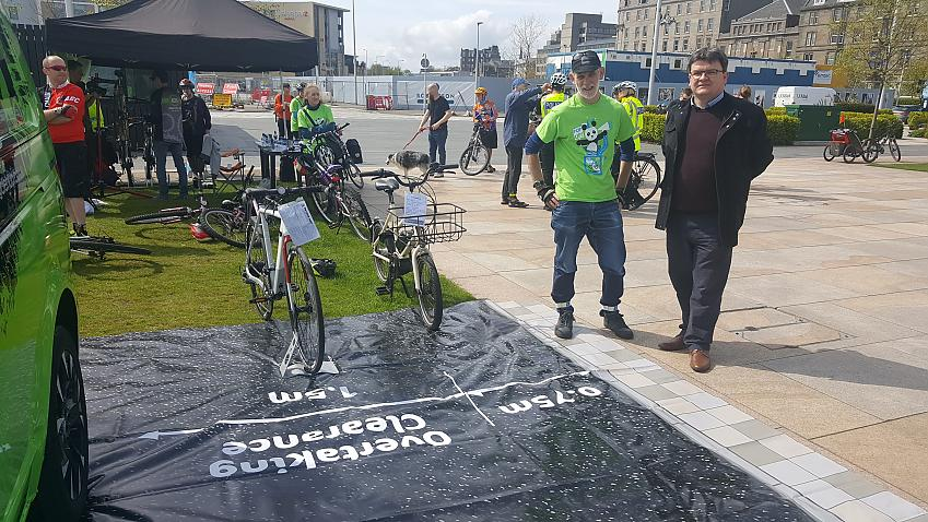 Cycling UK's Close Pass Mats have been used widely across the UK