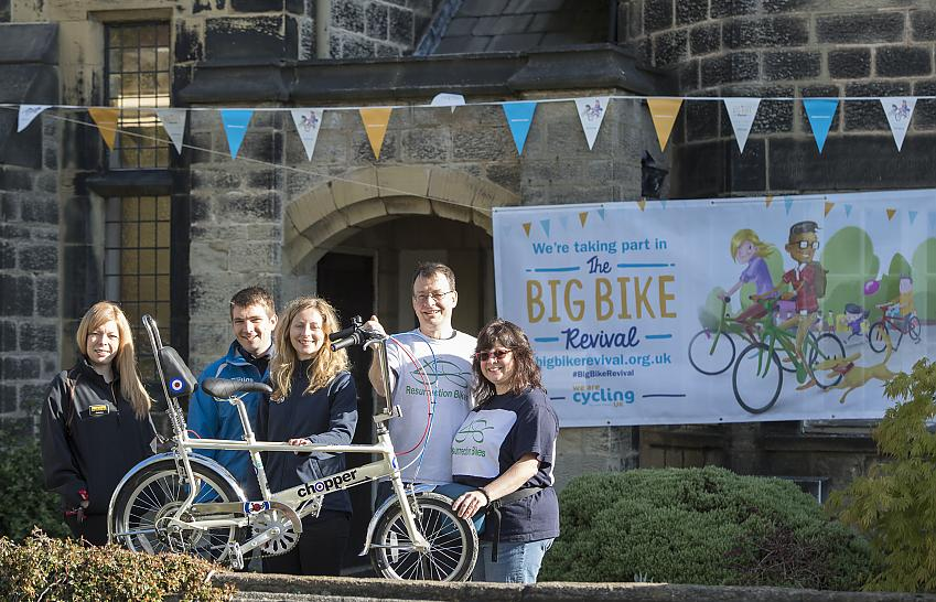 The launch of the Big Bike Revivasl with Resurrection Bikes