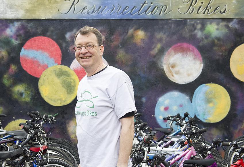 John Rowe of Resurrection Bikes