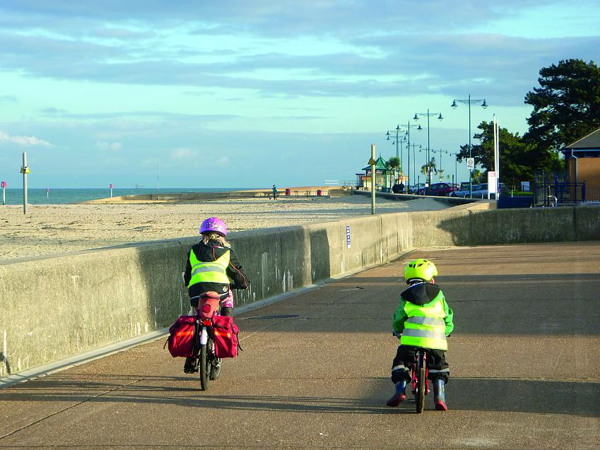On the seafront