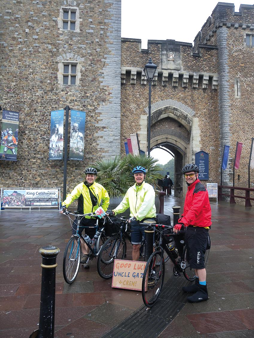 Starting from Cardiff Castle