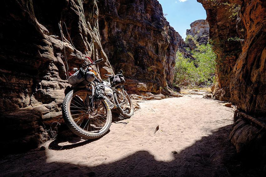 Caves near Ubirr providing welcome shade