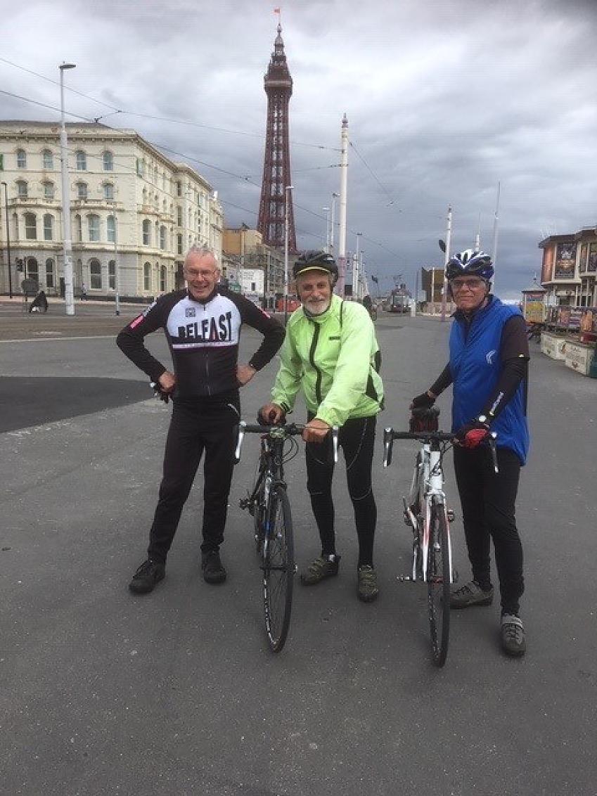 Mike Darke in Blackpool