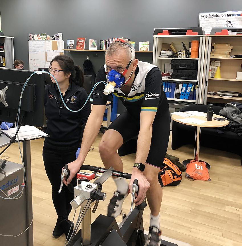 Surrey University's Human Performance Institute offered to help with fitness testing, training plans and nutritional advice