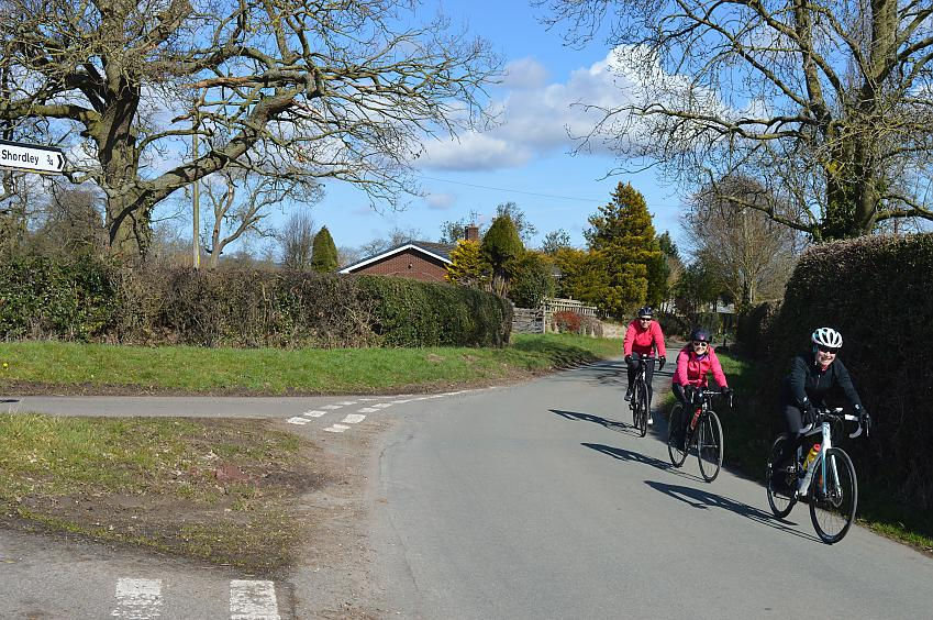 Riders on the Early Season Challenge Ride. Photo by Dan Joyce