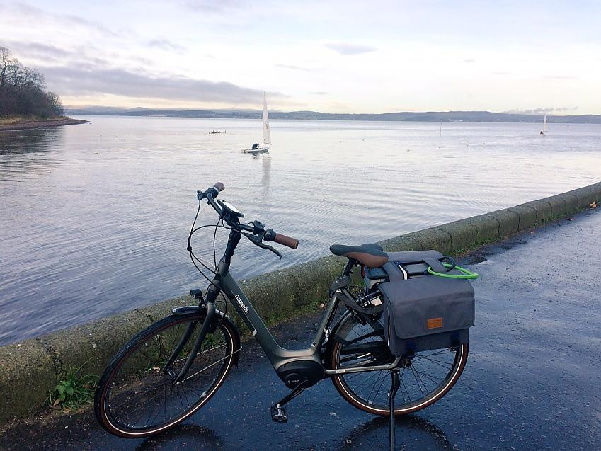 An electric bike is just as at home on the flat as it is on hills