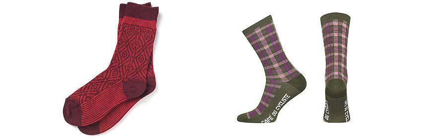 Findra Nordic socks and Cafe du Cycliste merino