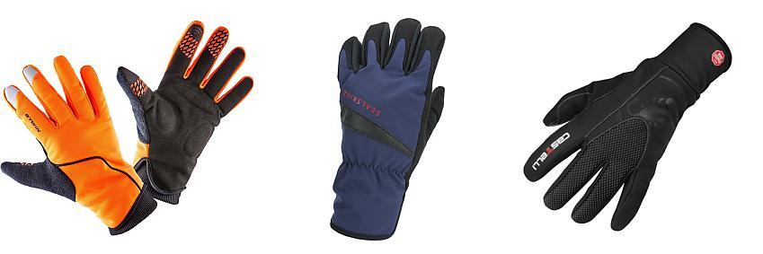 B'Twin, Sealskinz and Castelli gloves
