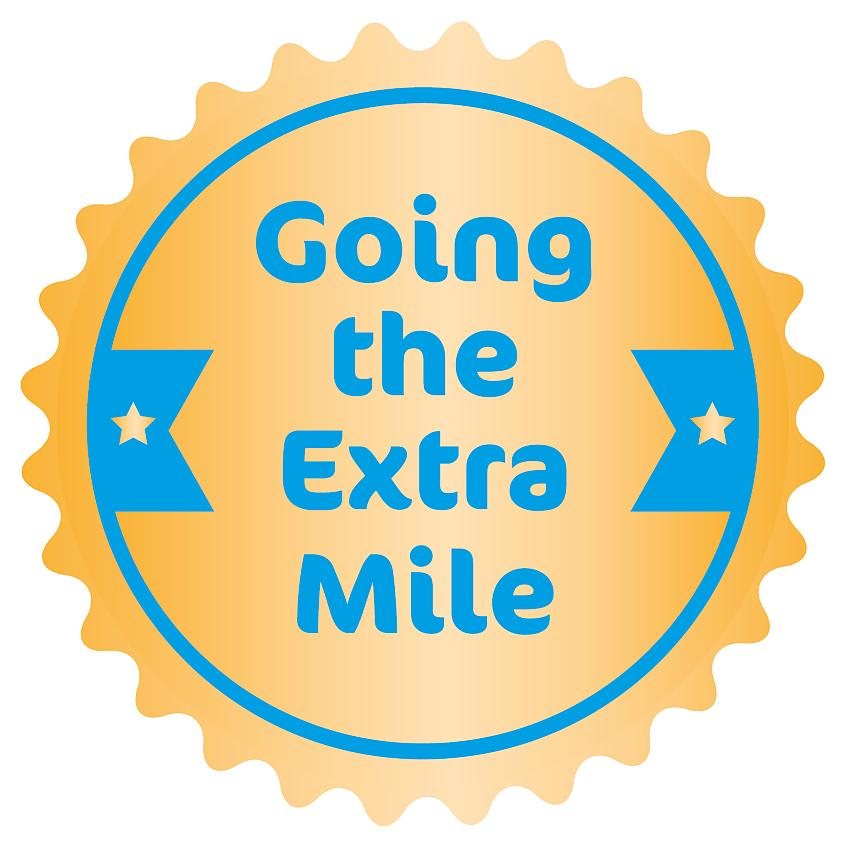 Going the Extra Mile logo