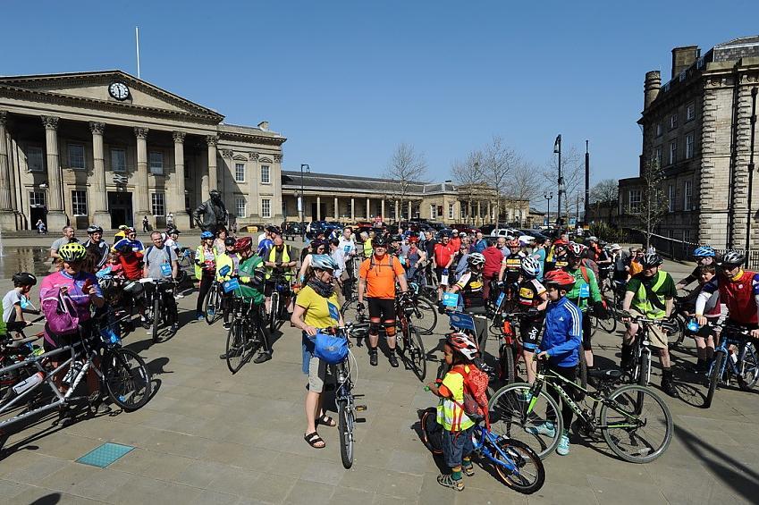 Vote Bike riders in Huddersfield