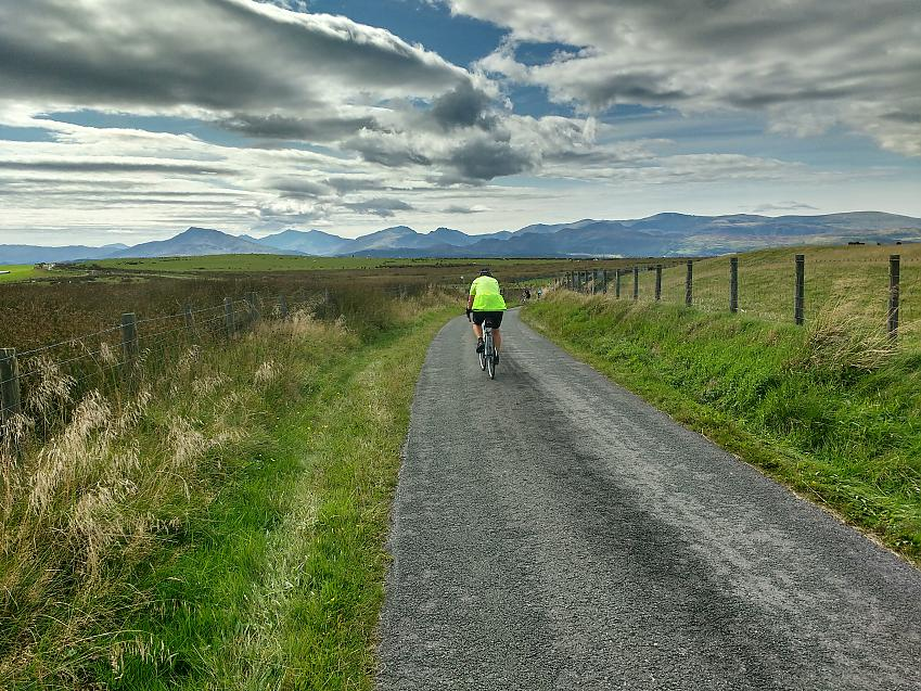 The open road of a Challenge Ride