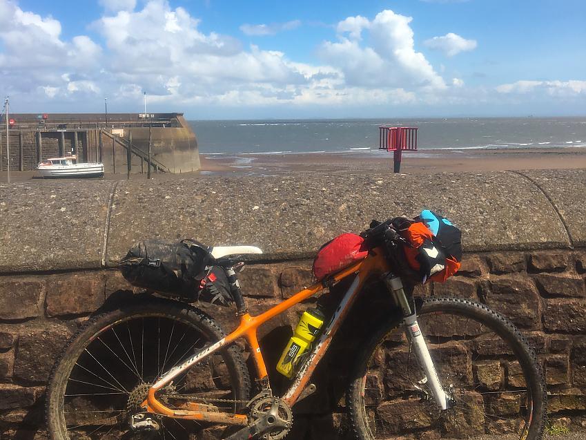 Bike at minehead