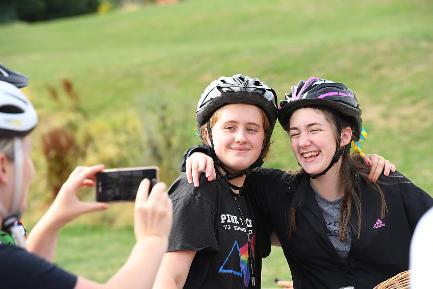 Encouraging the next generation of female cyclists