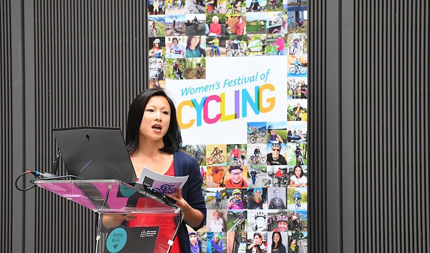 Tiffany Lam on the gender cycling gap