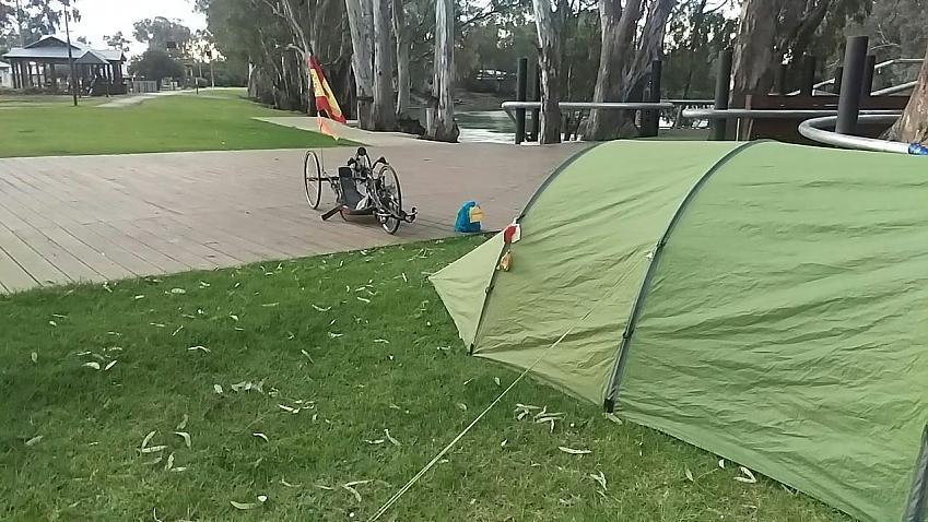 Karen's tent