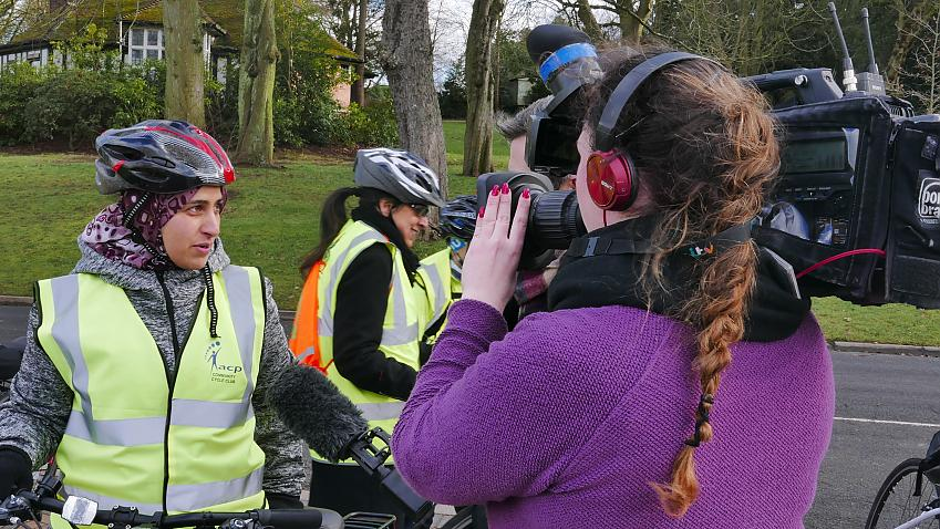 Your membership fees pay for supporting new cyclists to get riding and for us to get the media talking about cycling