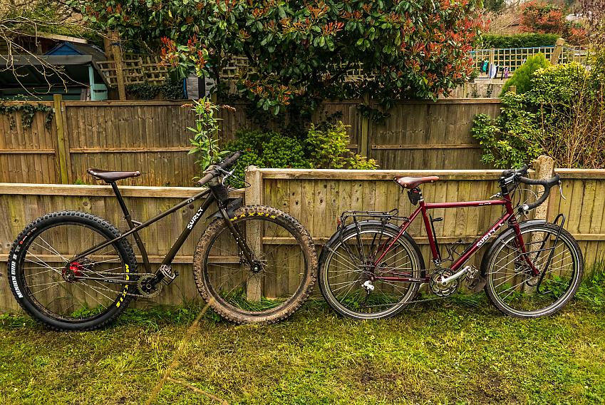 Two clean bikes
