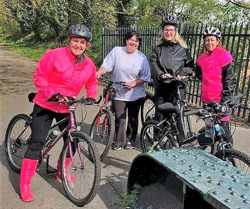 Liverpool Loopline Ladies Cycling group