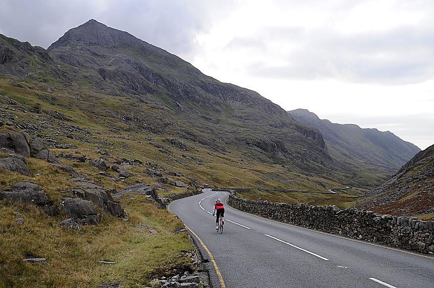 Llanberis Pass descent