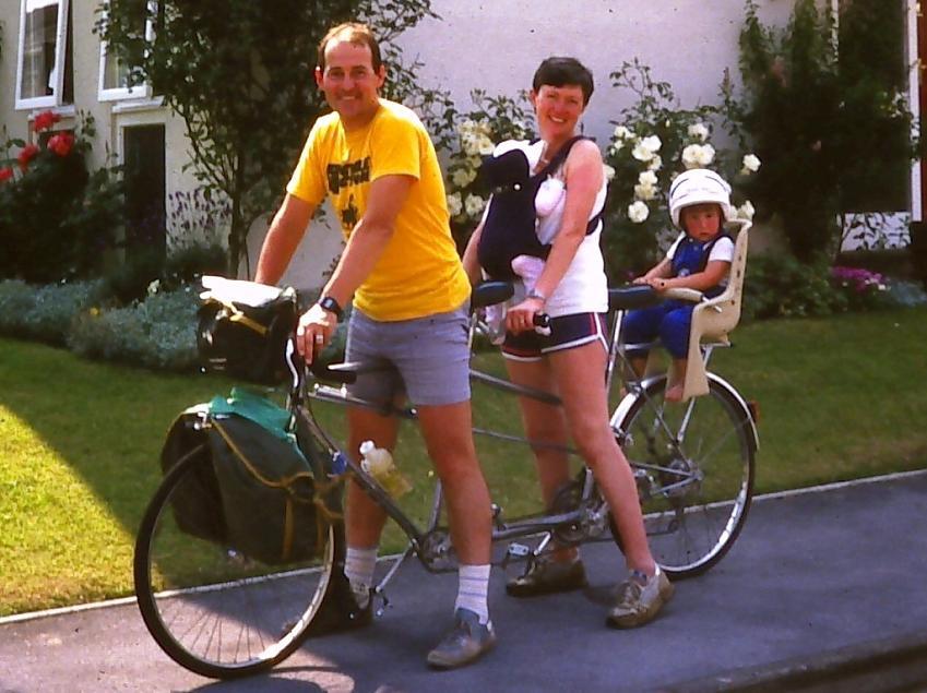 Mick has been a lifelong cyclist