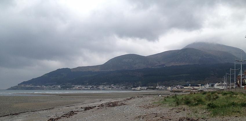 Mourne Beach in Northern Ireland