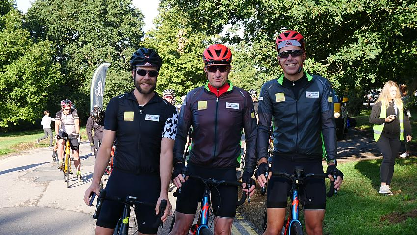 James, Graham and Dominic departed from Surrey in August