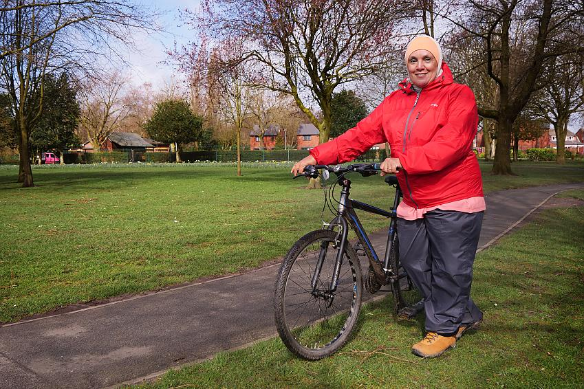 Yasma joined the Cycle for Health programme to regain some fitness