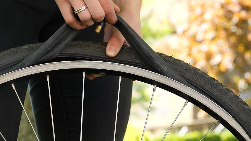 Punctures are easy to repair