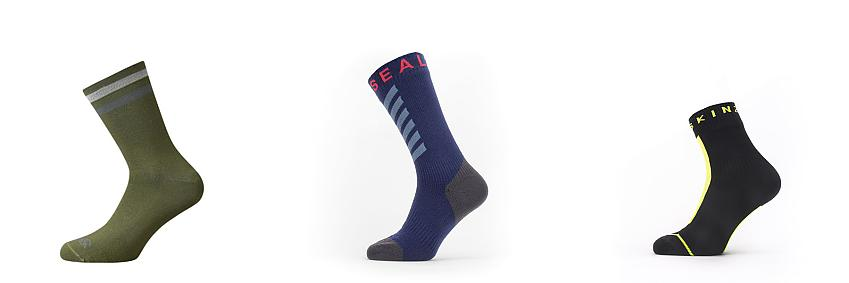Rapha and Sealskinz socks