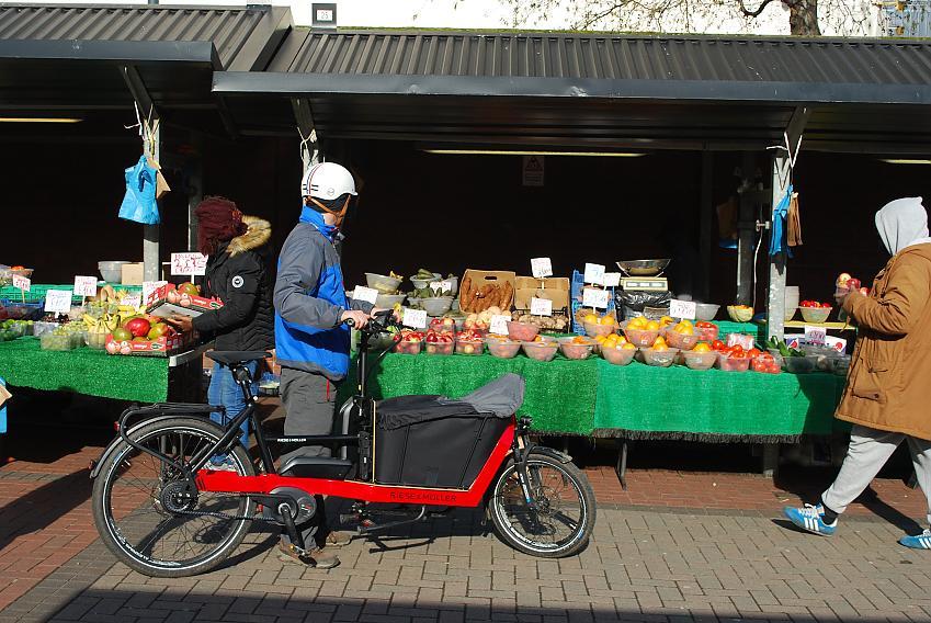 R&M Packster e-cargo bike