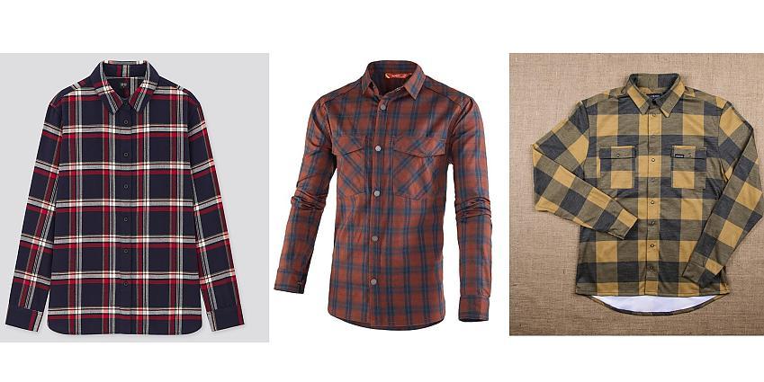 Selection of shirts