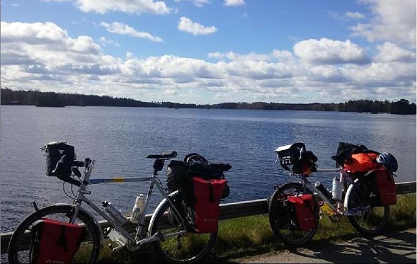 Parked up in Sweden